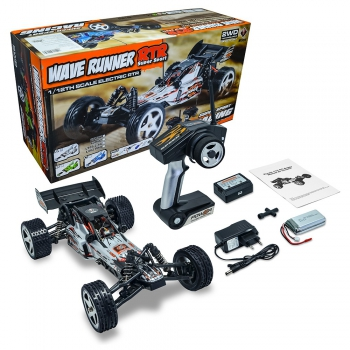 Automodelo Elétrico WLToys Off Road Baja Wave Runner 1/12 Completo 4x2