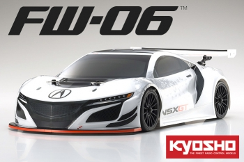 Automodelo Kyosho FW06 Acura NSX GT3 4x4 2 marchas Completo