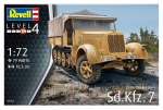 Kit montar Revell Caminhão Sd Kfz 7 Late Production 1/72 - 03263