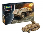 Kit Revell Tanque Sws WITH Panzer Werfer 42 Ww2 1/72 - 03264