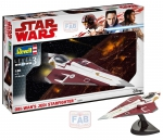 Kit Revell Star Wars Obi Wnas Jedi Starfighter 1/80 - 03614
