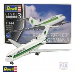 Kit Revell Avião Boeing 727-100 Germania 1/144 - 03946