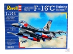 Kit Revell  Avião Jato F-16C Fighting Falcon 1/144 - 03992