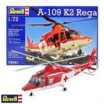 Kit Revell Helicoptero A-109 K2 Rega Swiss Air 1/72 - 04941