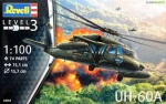 Kit Revell Helicoptero Uh-60a Sikorsky Blackw 1/100 - 04984