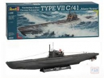 Kit Revell Submarino U-boat Type Vii C41 German 1/144 -05100