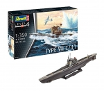 Kit Revell Submarino German Type Vii C/41 1/350 - 05154