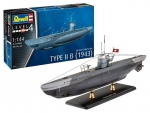 Kit Revell Submarino Alemão Type 2 B 1943 Ww2 1/144 - 05155
