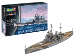 Kit Revell Navio Couraçado Hms King George V Www2 - 05161
