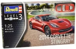 Kit Revell Chevrolet Corvette Stingray 2014 1/25 - 07060
