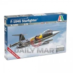 Kit Italeri Jato F-104g Starfighter Lockheed 1/72 - 1296