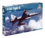 Kit Italeri 1/72 Jato F-5f Tiger 2 Twin Seater - 1382