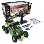 Automodelo Elétrico Wltoys Off Road 6x6 Rock Crawler 1/18 com Led