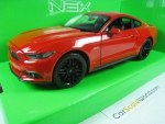 Miniatura Ford Mustang Gt 2015 1/24 Welly 24062w