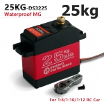 Servo Digital 25kg Metal Gear Waterproof com braço Aluminio ds3225mg