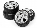 Jogo Rodas Hpi 1/10 Super Low Tread 12mm 74x28mm - Hpi 4724