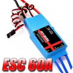 Esc Aeromodelo Brushless 60a Bec 5a Skywing