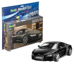 Kit Revell Model Set Audi R8 - 1/24 Completo - 67057