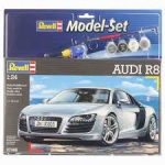 Kit Revell Model Set Audi R8 V8 1/24 Completo - 67398