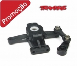 TRAX 7043 - Upper And Lower Steering Arm, Front Rear Servo