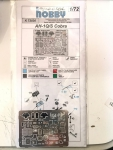 Photo-etched Set Helicoptero Ah-1q/s Cobra Mpm 1/72 K72030