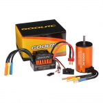 KIT / COMBO GOOLRC 3300KV BRUSHLESS ESC 60A WATERPROOF