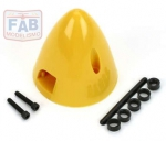DUB 287 - SPINNER DUBRO 2-1/2 AMARELO EM NYLON - MADE IN USA