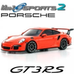 Kyosho Mini-z Mr-03 Sports Porsche 911 GT3 Laranja Radio Kt-19