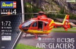 Kit Revell Helicoptero Airbus Ec135 Air Glaciers 1/72 - 04986