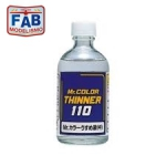 Thinner Mr Color 110ml Mr Hobby para Modelismo
