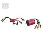 Kit Motor E Esc Brushless Automodelos 1/18 - 5800kv - 25a