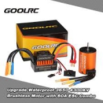 KIT / COMBO GOOLRC 3800KV BRUSHLESS ESC 60A WATERPROOF