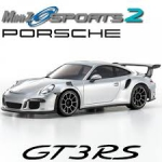 Kyosho Mini-z Mr-03 Sports Porsche 911 GT3 Prata Radio Kt-19