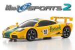 Kyosho Mini-z Mr-03 Sports Mc Laren F1 GTR 1995 Amarelo Radio Kt-19