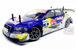 BOLHA TRANSPARENTE AUDI A4 DTM RED BULL 1/10 200MM