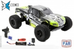 Automodelo Elétrico Ecx Escala 1/10 AMP 2WD Monster Truck RTR Black/Green