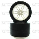 S089 - RODA MONSTER SLICK BRANCA 14MM