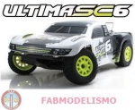 AUTOMODELO KYOSHO ULTIMA SC6 VE-I BRUSHLESS 1/10 UPGRADE