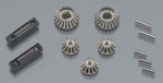 TRAX 7082 - Gear set, differential VLX 1/16