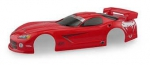 HPI 7727 - BOLHA HPI 2003 DODGE VIPER GTS-R PAINTED BODY (RED/200MM)