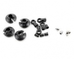 LOSA 5435 - LOSI 15MM SHOCK ENDS, CUPS & BUSHINGS (8IGHT 2.0)
