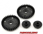 VTR232043 - Vaterra Differential Ring & Pinion Gear Set
