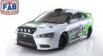 Automodelo Kyosho Fazer EP VE-X Lancer Evolution X KX3