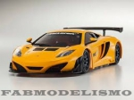 KYOSHO MINI-Z MR-03VE BCS MCLAREN 12C GT3 2013 LARANJA