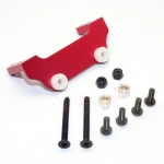 GPM Aluminum Servo Mount Set Red For Gmade Sawback / Komodo