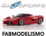 KYOSHO MINI-Z MR-03 SPORTS LA FERRARI VERMELHA METALICA