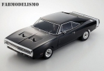 Automodelo Fazer VE-i Dodge Charger 1970 Preto Brushless Completo