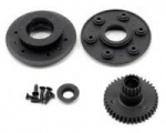 LOSA 99423 - LOSI RTR STARTER BOX WHEEL PULLEY SET