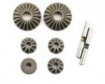 LOSA 3502 - LOSI DIFFERENTIAL GEAR & SHAFT SET