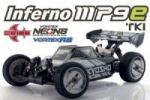 Automodelo Kyosho Inferno MP9e Eletrico Brushless 1/8